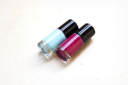nails: nails polish, summer nails Stock Photo