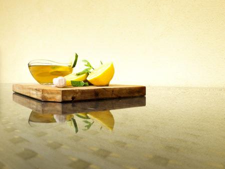 summer drink, lemonade, cold remedy Stock Photo