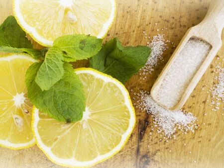 cold remedy: summer drink, lemonade, cold remedy Stock Photo