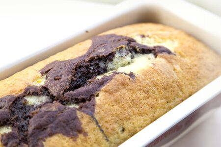 marbled effect: Chocolate Marble Cake