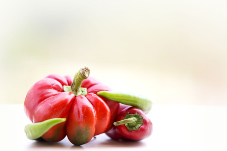 red peppers: red peppers, autumn vegetables