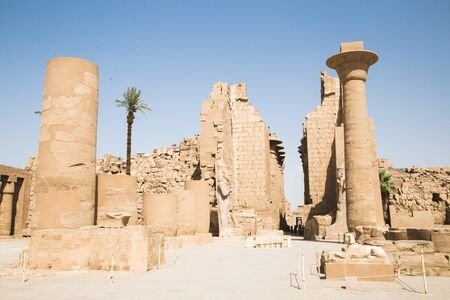 Karnak Temple Complex in Theba, Egypt
