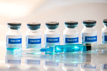 Different types of covid 19 vaccines bottles