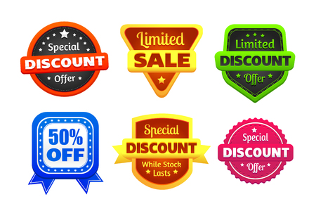 limited: Limited Discount Sale Badges