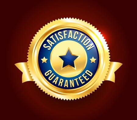 scalable: Golden Satisfaction Guaranteed Badge