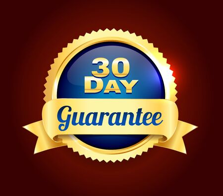 Golden 30 Day Quality Badge