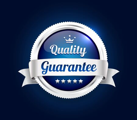 Silver Quality Guarantee Badge