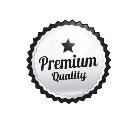 silver: Silver Premium Quality Badge