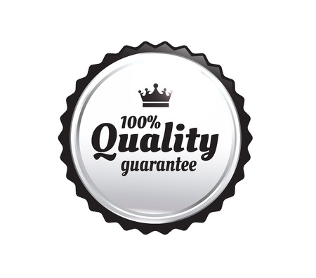 scalable: Silver Premium Quality Badge