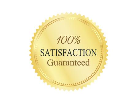 Or Badge Premium Quality Banque d'images - 45510016