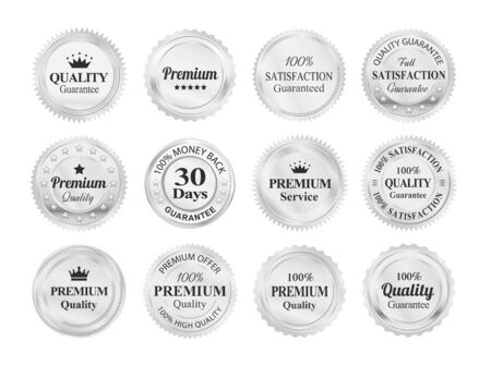 silver: Silver Quality Guarantee Badges