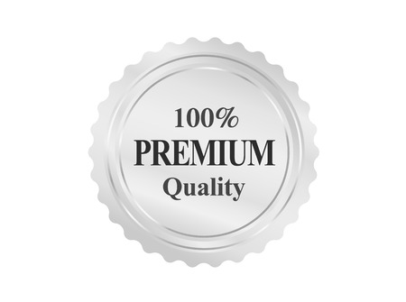 Silver Premium Quality Badge