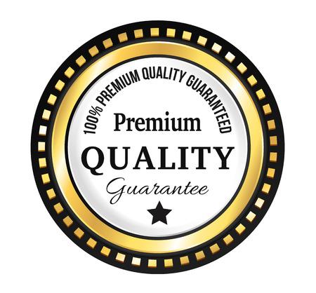 scalable: Golden Premium Quality Badge