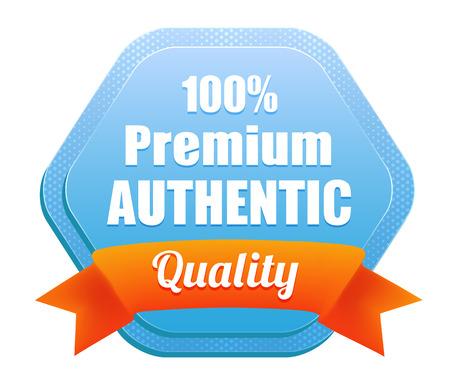 Premium Authentic Quality Badge