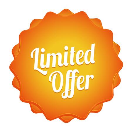 Limited Offer Badge