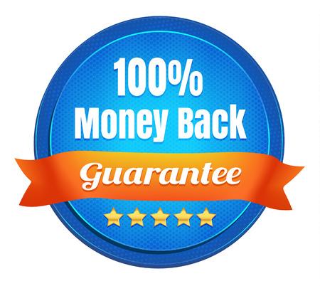 money back: Money Back Guarantee Badge