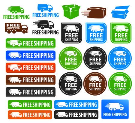 Free Shipping Badges