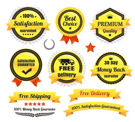 Premium Quality Ecommerce Badges