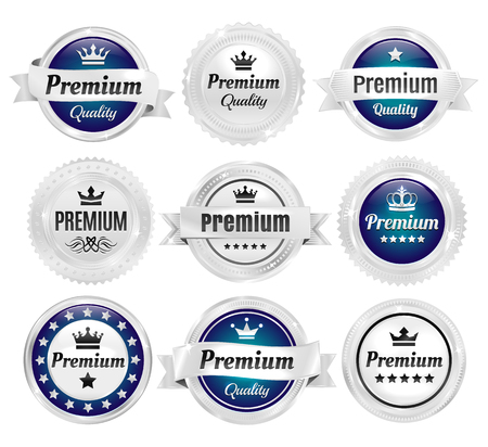 quality guarantee: Silver Premium Quality Badges
