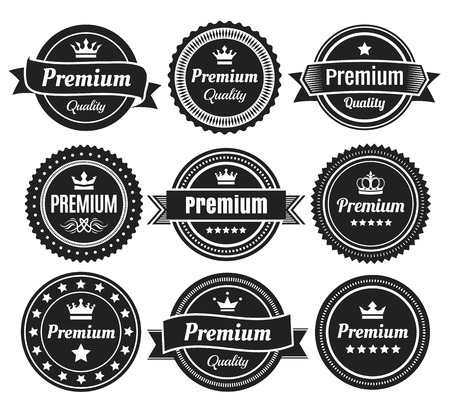 solid color: Solid Color Premium Quality Badges