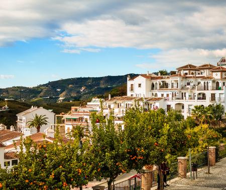 Frigiliana Village à Malaga, Espagne Banque d'images - 72624766