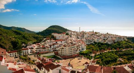 Frigiliana Village in Malaga, Spain