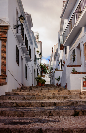 Frigiliana Village à Malaga, Espagne Banque d'images - 76911408