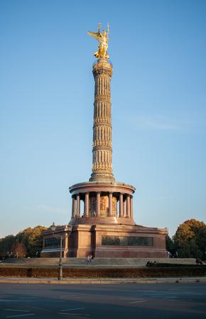 Siegessaule Victory column in Berlin Germany