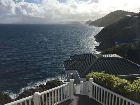 thomas: Deck view, St Thomas US Virgin Islands
