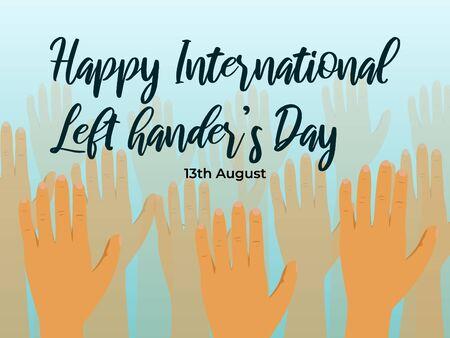 happy international left hander's day