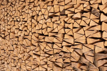wood stacked in a pile