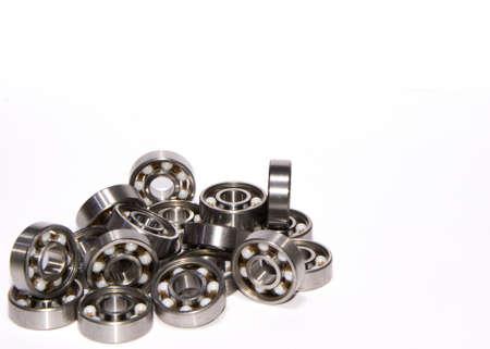 Many deep groove ball bearings - machine elements