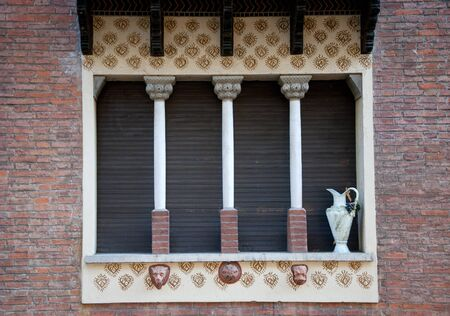 old window with shutters Stock Photo - 14898095