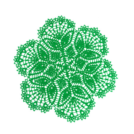 Vintage Crochet Doily Crocheted Lace Napkin As Home Decoration