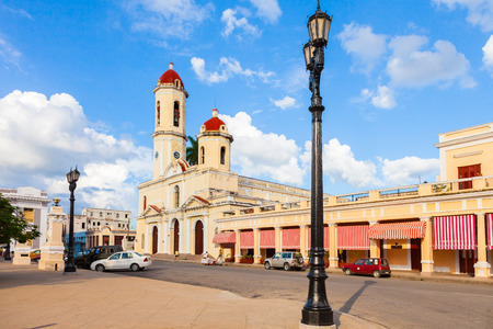 Cienfuegos Cathedral (Catedral de la Purisima Concepcion) is the name given to a religious building, located opposite the Jose Marti Park in the city of Cienfuegos of Cuba.