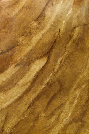 Brown artificial marble texture. Stone abstract background pattern, painted on the wall.