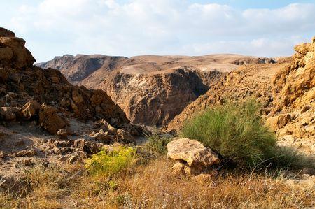 holyland: Dead sea hills - Wadi Darga