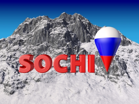 coubertin: Sochi letters of a mountains