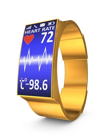 which: smart watches which display pulse and temperature