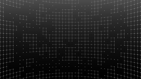 Abstract background of a grid of squares. 3d rendering.