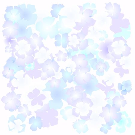 ed: flower vector, color, bright,  vector Illustration