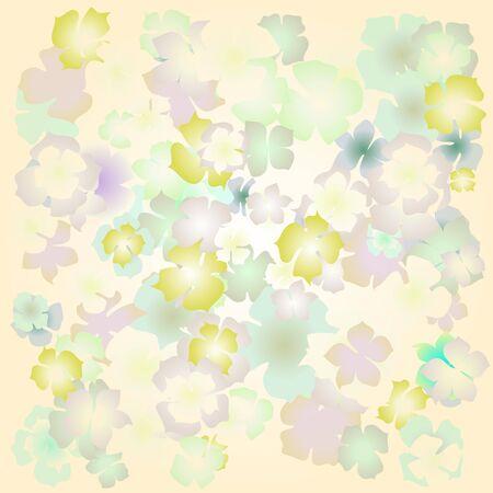 ed: flower vector, color, bright, design Illustration