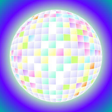 miracle: new year ball snowflakes miracle