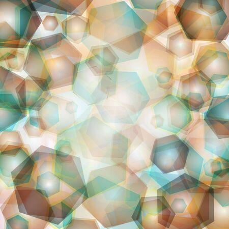 geometric pattern, triangles background, polygonal design web Vector