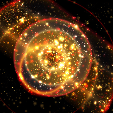 apocalyptic: Abstract apocalyptic background cosmos space