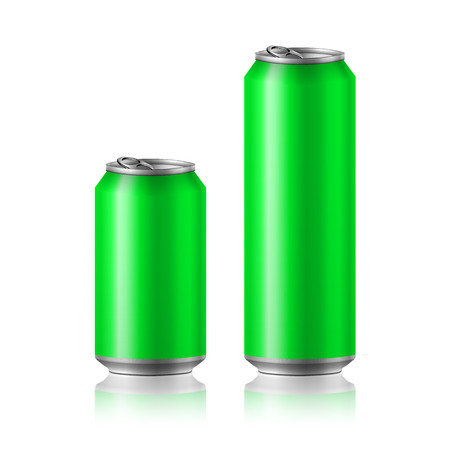 tincan: drink foods cola beer aluminum soda Illustration