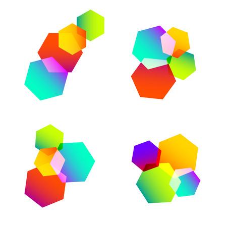 splinters: abstract color element idea symbol