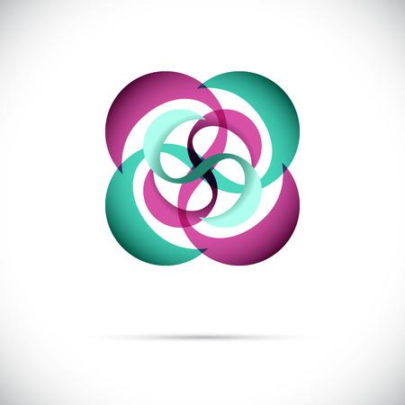 scifi: Sphere AbstTechnology circle icon. Sci-fi hitech futuristic style creative concept.