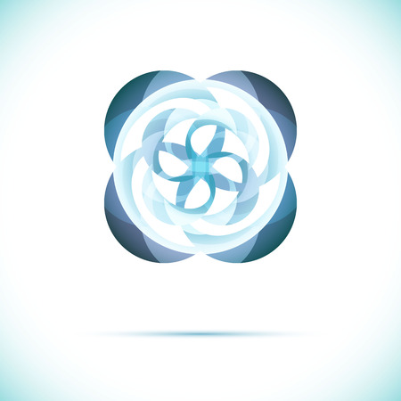 Sphere AbstTechnology circle icon. Sci-fi hitech futuristic style creative concept. Vector
