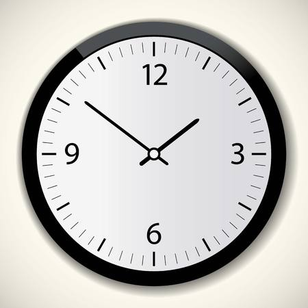 chronograph: Classic  circle  moment timer larm clock vector